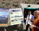 WWF-India's WAL team interacting with locals at the Gorsam Festival in Arunachal Pradesh