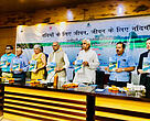 Environmental Flows for a Healthy Ramganga report was released by Shri. Dharampal Singh, Honorable Minister for Irrigation, Uttar Pradesh Irrigation and Water Resources Department, Government of Uttar Pradesh, during a workshop in September 2018